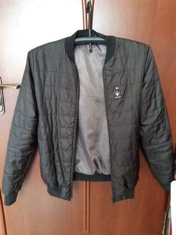 Бомбер чёрный | куртка