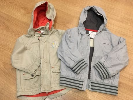 Lote de 2 casacos de menino 2 anos