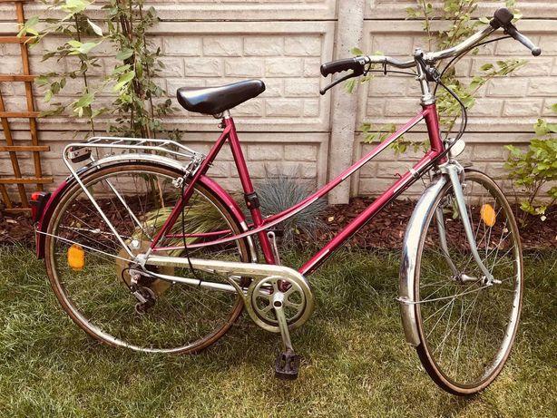 Piękny różowy rower Damka Gazelle 28''