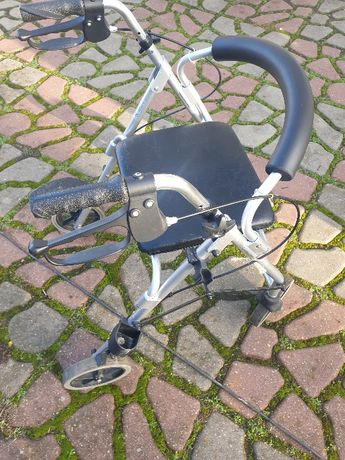 Podpórka inwalidzka / rehabilitacyjna 4-kołowa TRENDMOBIL. SUPER STAN