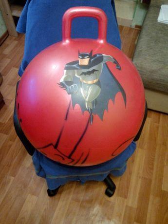 Большой надувной шар прыгунок(годится для занятий спортом)