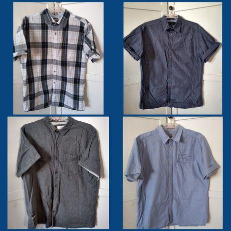 Koszula męska krótki rękaw xl house carry zestaw