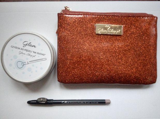 Glamshop Glam shop kalendarz adwentowy czyścik kosmetyczka kredka