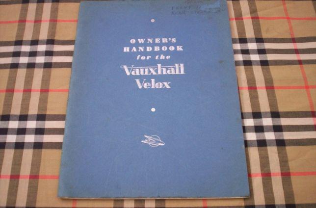 Vauxhall Velox - 1950
