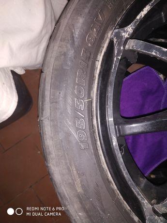 Jantes com pneus