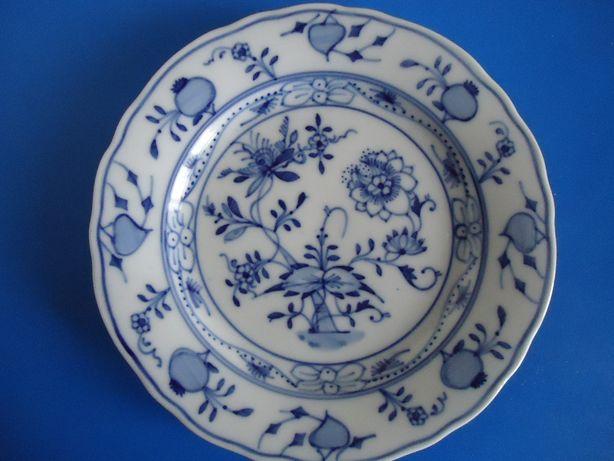 M.P.M-Muhlenfeld,porcelana,talerz,talerzyk deserowy,antyk,sygnatura