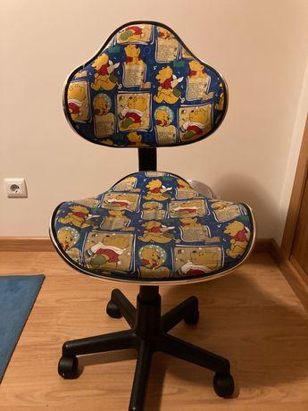 Cadeira escritório de criança