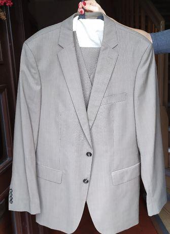 Firmowy garnitur Pierre Cardin na wzrost około 176cm 3 części
