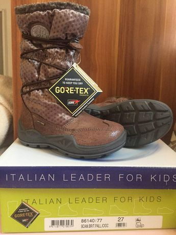 Сапоги ботинки gore tex Primigi