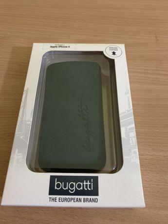 Skórzane Etui Bugatti do iPhone 5, 5s, SE
