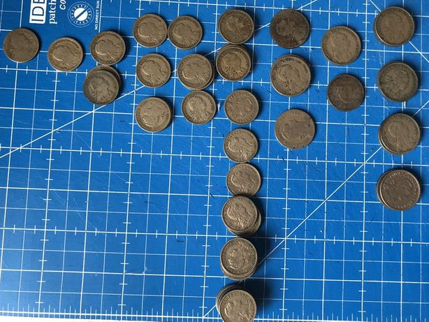 Colecção de moedas antigas