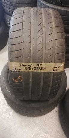 315 35 R20 Dunlop Runflat 2szt z Niemiec NAJTANIEJ lato LUMI BMW X5 X6