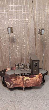 Amplificador com colunas. Posso vender separado.