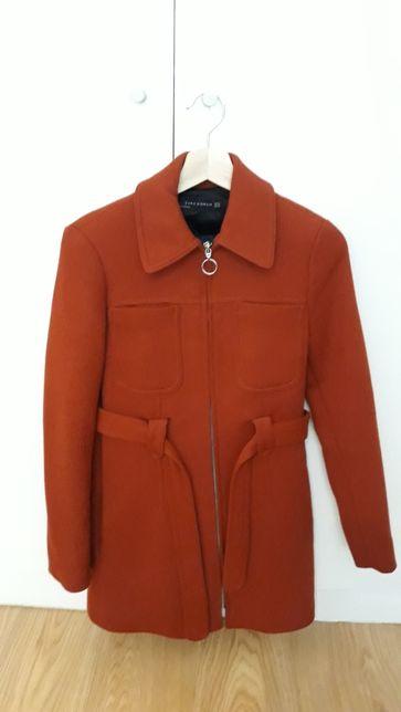 Casaco Zara cor de laranja - XS