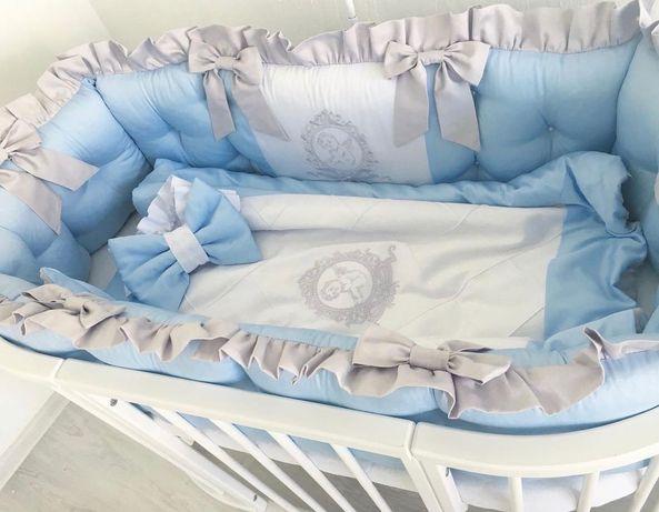 Бортики в кроватку, детская постель