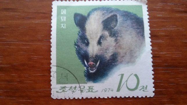 Редкая марка ( КНДР 1974 год)