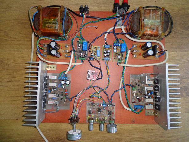 Wzmacniacz mosfet DIY ts120/13 bluetooth