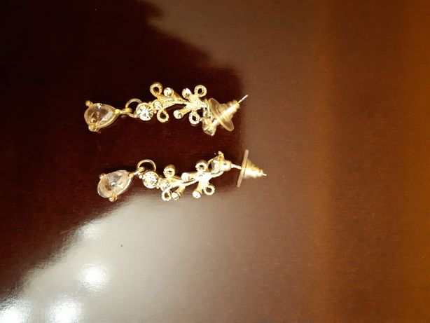 Kolczyki ślubne srebrne