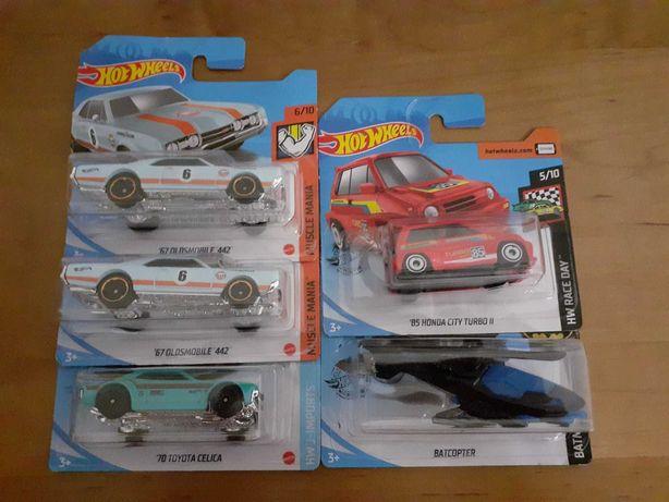 Hot Wheels - Celica, Honda, Batcopter, Oldsmobile