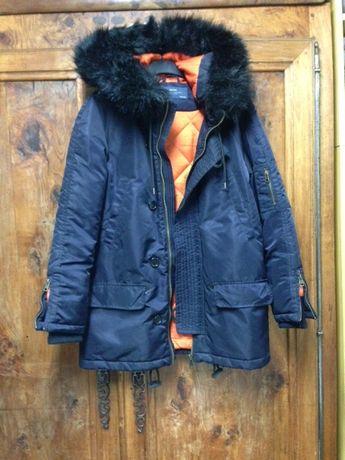 ocieplana kurtka Zara