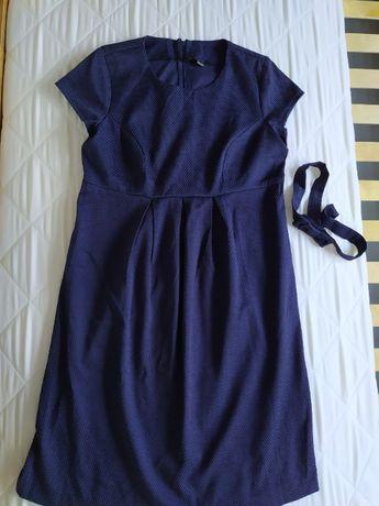Sprzedam sukienkę ciążową r M + 3 pary rajstop ciążowych