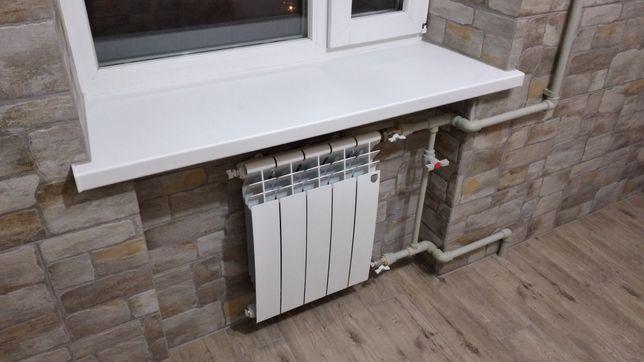Монтаж систем отопления, водопровода, тёплый пол. Установка бойлеров.