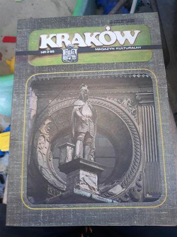 Kraków magazyn kulturalny 1985 pojedyncze egzemplarze