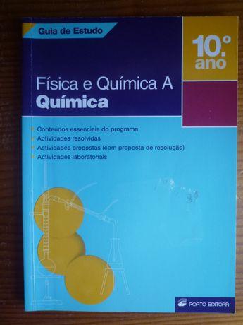 GUIA DE ESTUDO DE Física e quimica A - só parte de Quimica 10º ano.