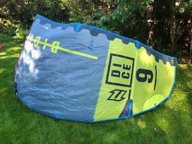 NORTH DICE 9.0 2016 kiteboarding latawiec