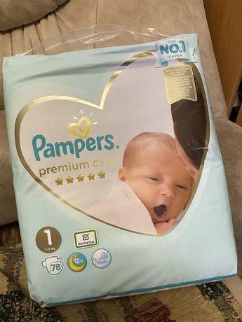Памперсы Pampers premium care 1 78шт