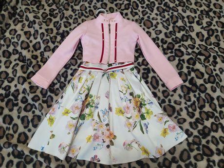 Плаття для дівчинки від 4-6 років.