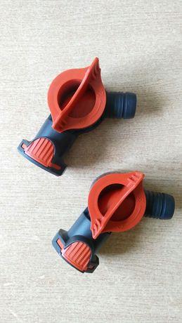 Кран AquaStop для Fluval FX5-6.  2 шт