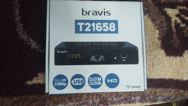 Т2 тюнер bravis T21658