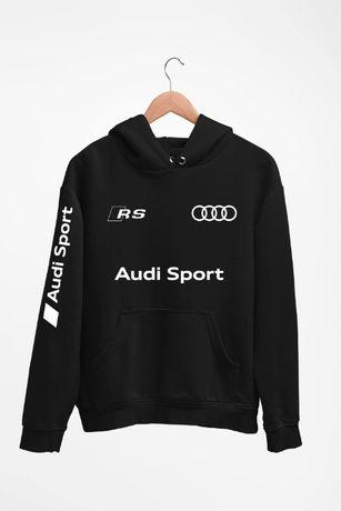 Bluza z kapturem Audi Sport RS - męskie i damskie - dostępne 4 kolory