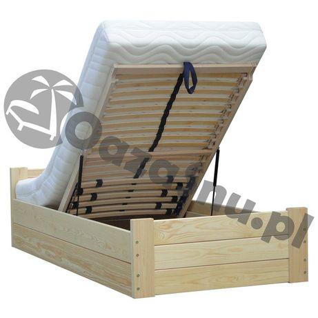 LIFT 160x200 łóżko z dużym pojemnikiem bardzo mocne stelaże elastyczne