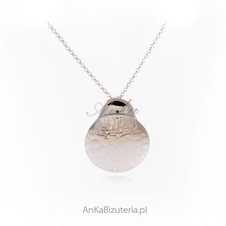 ankabizuteria.pl łańcuszek zawierzenia maryi Srebrny naszyjnik KÓŁKA