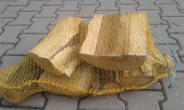 Drewno kominkowe opałowe twarde do wędzarni wędzenia akacja