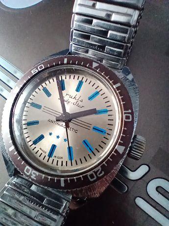 Stary zegarek Ruhla Amfibia
