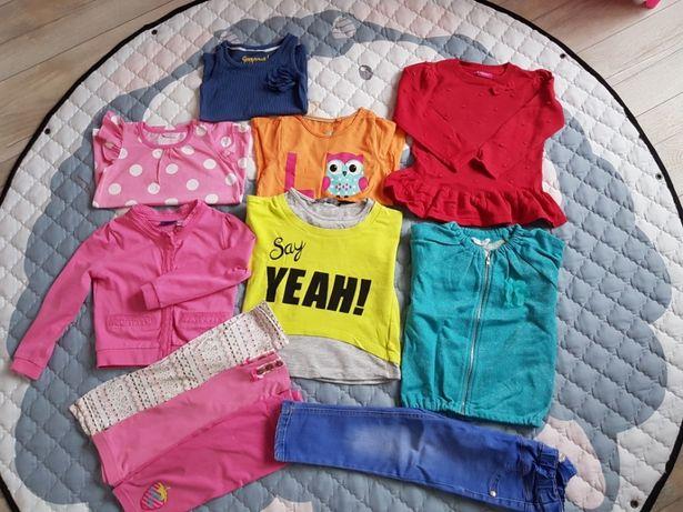 Ubranka dla dziewczynki 12szt.