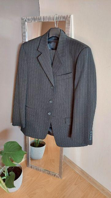 Pełny Garnitur męski mało używany roz.Góra 50x170/Spodnie 170x90 GALUX