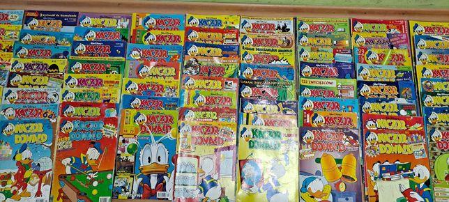 Komiks Kaczor Donald zestaw  90 sztuk roczniki 1995-20