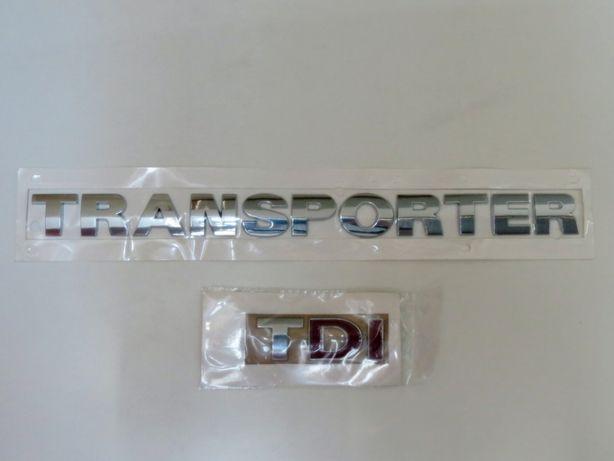 Napis emblemat naklejka plakietka VW Transporter TDI