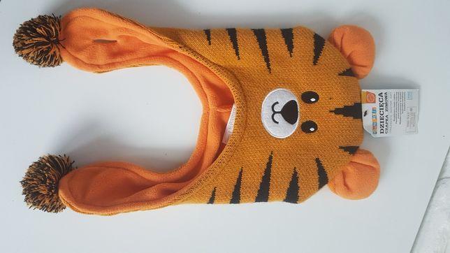 Czapka zimowa tygrysek