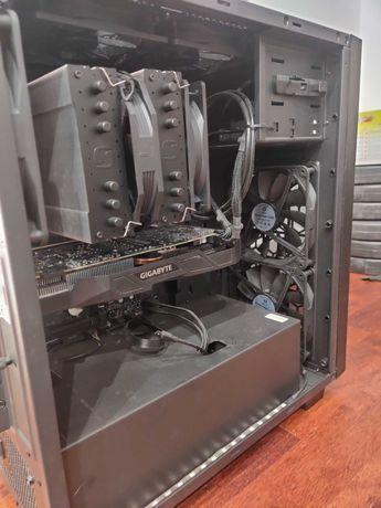 komputer gamingowy GTX 1070 i7 32GB RAM 8 wentylatorów, RGB light