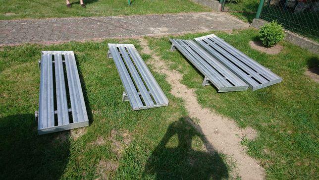 Regały półki do samochodu chłodnia mroźna i nie tylko! aluminium scudo