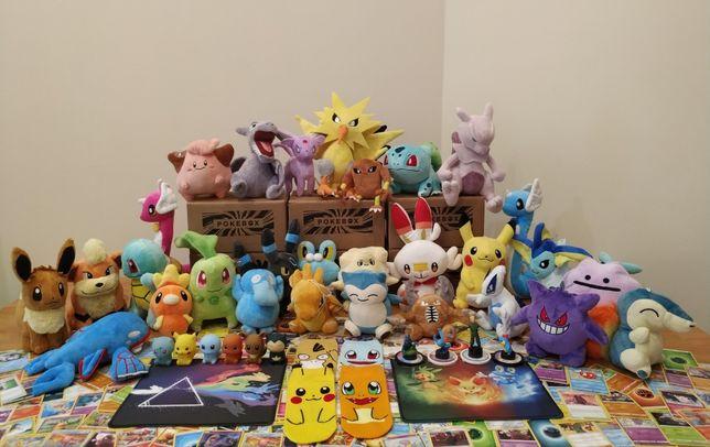 Peluches Pokémon e até Caixas Surpresa Pokémon !