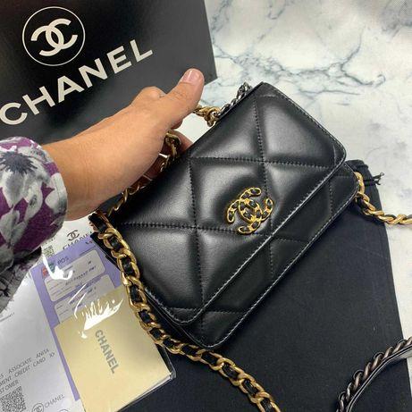 Torebka Chanel Flap 19 WOC jakość Premium