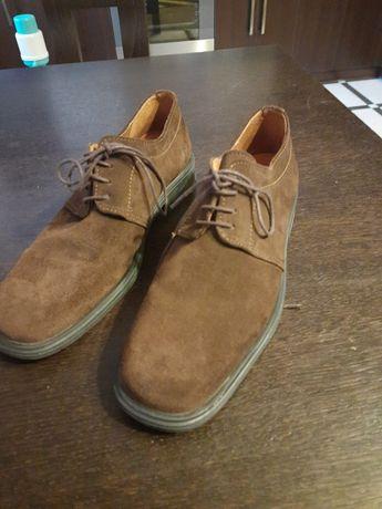 Чоловічі замшеві туфлі 42-43розмір