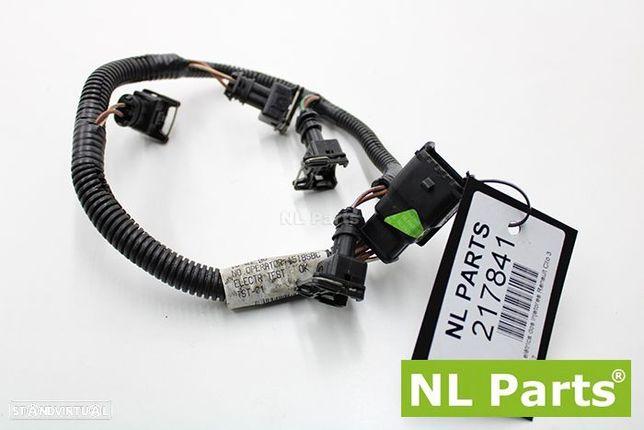 Instalação elétrica dos injetores Renault Clio 3 8200081317