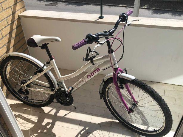 Bicicleta completamente nova